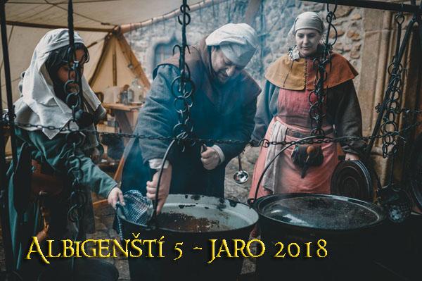 Albigenští 1262 - jaro 2018 část 2